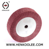 Pano de algodão Tingidos de cor branca da roda de polimento de polimento fino