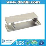 Le profil en aluminium anodisé 6063 de l'Ethiopie des prix les plus inférieurs font des châssis de porte et de fenêtre