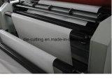 Roulis non tissé de papier de tissu de PE du film plastique pp à la machine de découpage de feuille avec la fonction de fente