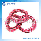 Diamond Wire Saw Rope for Granite Block Squaring