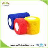 12 stukken 5cm het X4.5m Gemengde Katoenen van de Kleur Samenhangende Flexibele Verband van Sporten
