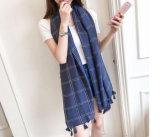 Form-Herbst-dünner Gitter-Tuch-Schal mit Nizza Entwurfs-Muster