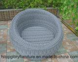 Neues Entwurfs-Aluminiumrahmen-im Freiensofa-gesetzte Rattan-Möbel (TG-821C)