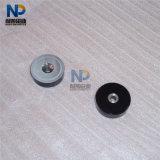 Magnete del POT della holding del foro svasato NdFeB del neodimio