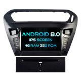 Auto DVD des Witson acht Kernandroid-8.0 für Citroen Elysee/Peugeot 301 4G ROM 1080P Touch Screen 32GB Bildschirm ROM-IPS