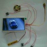Module de vidéo d'écran LCD de carte de voeux
