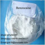 Lokales Betäubungsmittel mischt Droge rohen PuderBenzocaine CAS bei: 94-09-7 für Schmerz-Mörder