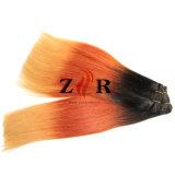De in het groot Uitbreiding van het Menselijke Haar Remy van het Haar van Kleur 3 Ombre Weft Maagdelijke