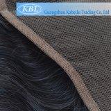 El cabello humano brasileña 13*5 Tres forma parte del cierre de encaje