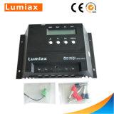 contrôleur solaire 12V/24V de charge de 20A/30A/40A/50A/60A PWM