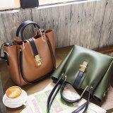 2018年のデザイナーPUの革女性の方法2 PCSセットのハンドバッグ