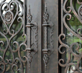 Porte En Fer Forgé Porta de Entrada de ferro forjado