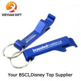 Promotional Metal To coil Bottle Opener Keychain