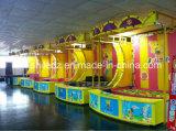 Cabine do carnaval dos jogos do divertimento da tração
