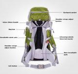 옥외 60L는 어깨 야영 책가방을 방수 처리한다
