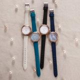 Reloj clásico de la aleación de la manera de la mujer del regalo del ODM del OEM de Wistwatch (Wy-127D)