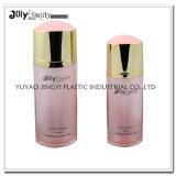 frasco luxuoso redondo cor-de-rosa da bomba de ar da loção 60ml