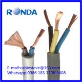 Sqmm elétrico flexível do cabo de fio 3X1.5 de H05VV
