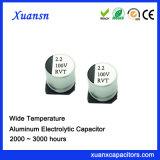 Condensador estándar de la alta calidad 2.2UF 100V SMD