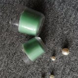 De ronde Blauwe Purpere Gekleurde Kaars van de Kruik van het Glas Bottem met ISO9001