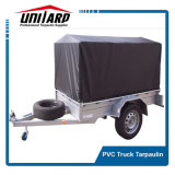 1100dex polyester PVC Trailer Cover with Stainless Steel Eyelets
