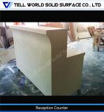 Moderner fester Oberflächenbüro-Möbel-Empfang-Schreibtisch-acrylsauerkostenzähler
