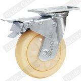 4 Zoll-doppelt genaues Kugellager-Hochleistungspolypropylen-Rad-industrielle Fußrolle