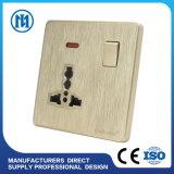 1gang 2gang 3 갱 벽 스위치 벽 스위치가 지능적인 가정 생활면의 자동화 무선 WiFi 통제에 의하여 LED 점화한다