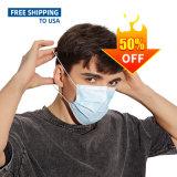 3 capas protectoras no tejido cara Desechable Mascarillas desechables de máscara de la moda 100/Pack