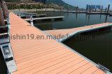 Pontón lujo pontón flotante de aleación de aluminio estable y duradera del puente de la plataforma