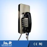 Vandalproofキーパッド、刑務所の電話、耐候性があるキーパッドのための金属キーボード