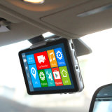 Автомобиль камера DVR Dashcam GPS 5 дюймов франтовская двойная