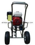 Máquina de pulverização de bomba de pistão do motor de gás