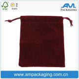 Falsos tecidos não colorido Bespoke barato telefone toque suave de veludo e bolsa de embalagem