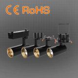 Schwarzes/weißes LED-niedrigste Preis-niedriges Glanz-Spur-Licht mit Garantie 3