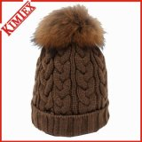 Lady Fashion fourrure POM POM Hat