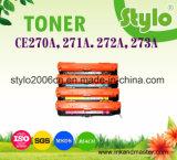Ce270A/CE271A/CE272A/CE273A Cartucho de tóner de color para HP 5525dn/5525xh