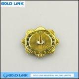 Emblema de encargo del Pin de la solapa del metal de la insignia de la marina de guerra de la alta calidad