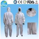 Wegwerflokalisierungs-Kleid-Wegwerfoverall-staubdichte Arbeitskleidung