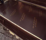 Le film du faisceau 18mm Brown de peuplier a fait face au contre-plaqué pour la construction