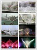 Fontaine d'eau de décoration de musique de jardin d'intérieur de forme d'aile