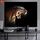 Decoração da parede de cópias da lona do tigre