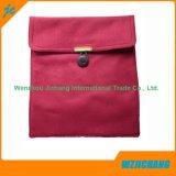 ボタンが付いている快適な高品質のカスタムリネン袋