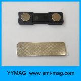 De magnetische Rug van de Magneet van de Kentekens van het Neodymium van Klemmen Magnetische voor het Kenteken van de Naam