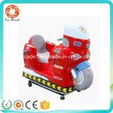 Máquina de juego roja de fichas del paseo del Kiddie de la bici del motor del equipo de la arcada