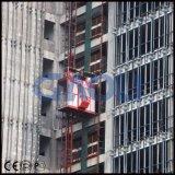 Sc200/200 -2ton con la gru della costruzione delle due gabbie