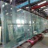 Custom 8mm 10mm 12mm 15mm 19mm transparente de grande taille des panneaux en verre trempé