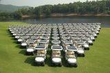 Zonne Macht 4 de Elektrische Karren van het Golf Seater