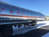 Venta caliente! Cbm 60 Trailer del depósito de aceite de acero inoxidable