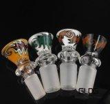 In het groot Heady Amerika kleurt de Dia's van de Kom van het Glas voor de Mannelijke/Vrouwelijke Verbinding van 10mm/14mm/18mm